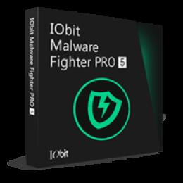 IObit Malware Fighter 5 PRO (1 Ano/1 PC) - Portuguese