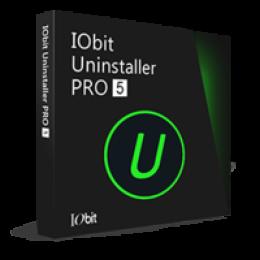 IObit Uninstaller PRO 5 (1 year subscription / 1 PC)