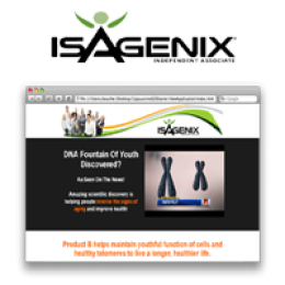 Isagenix Product B Page ~ Yearly Subscription