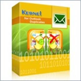 Kernel für Outlook Duplikate - Einzellizenz Benutzer