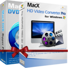 Promo Code for MacX DVD Video Converter Pro Pack for Windows