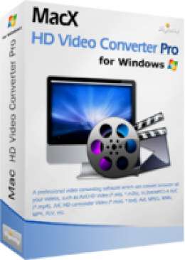 MacX HD Video Converter Pro for Windows (+ Free Gift) Promotion Code