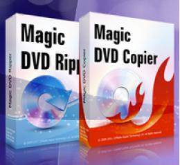 Magic DVD Ripper + DVD Copier (Full License + 1 Year Upgrades)