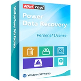 MiniTool Power Data Recovery - Personal Ultimate