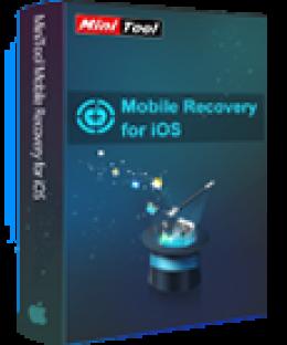MiniTool iOS Récupération Mobile pour Mac Lifetime 1.4
