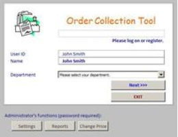 Order Collection Tool