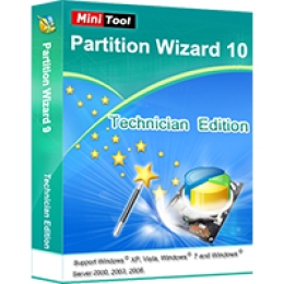 Partition Wizard Technician + Lebenszeit-Upgrade