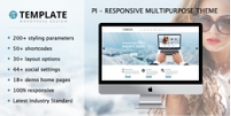 Pi Multipurpose Responsive WordPress Theme