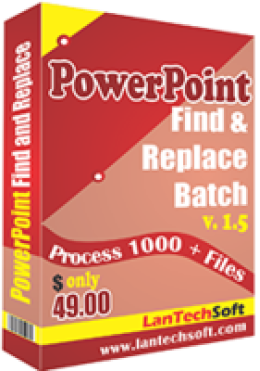 Powerpoint Find and Replace Batch
