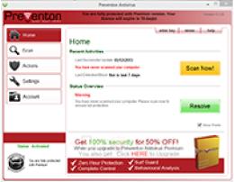 Preventon Antivirus Premium 1 day Promo
