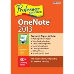 Professor Teaches OneNote 2013