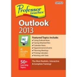 Le professeur enseigne Outlook 2013
