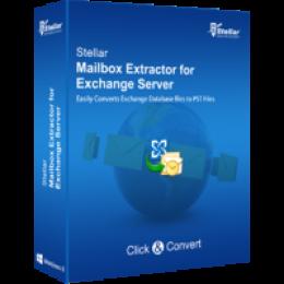 Stellar Mailbox Extractor para Exchange Server