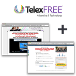 TelexFREE Opportunity Site + Capture Page (STARTER PLUS) ~ Monthly Subscription