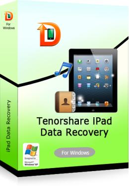 Tenorshare iPad Air/iPad 4/mini/3/2 Data Recovery for Windows