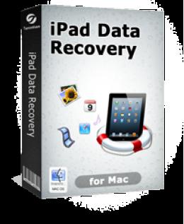 $5 Tenorshare iPad Data Recovery for Mac Discount Code