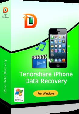 Tenorshare iPhone 5s / Recuperación de Datos 5c / 5 para Windows