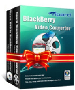 Special 15% Promo Code for Tipard BlackBerry Converter Suite