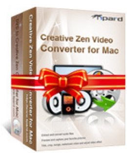 Tipard Creative Zen Converter Suite for Mac