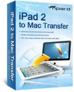 Tipard iPad 2 to Mac Transfer