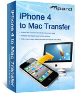 Tipard iPhone 4 to Mac Transfer