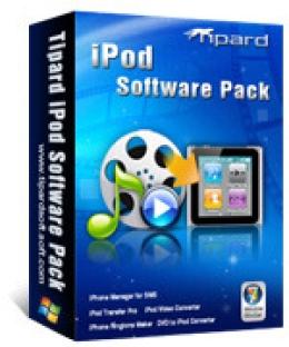 Tipard Paquete de Software para iPod