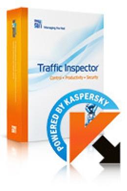 Traffic Inspecteur + Traffic Inspecteur Anti-Virus alimenté par Kaspersky (1 Year) Gold 40