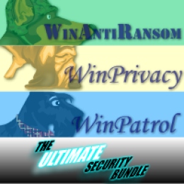 Ultimate Bundle 5 User License for WinAntiRansom WinPatrol and WinPrivacy w/ Annual Renewal