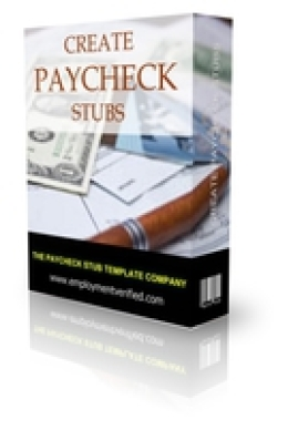 Unlimited Paycheck Stub Templates