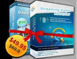 Video Descargar Capture + Streaming Audio Recorder Licencia Personal