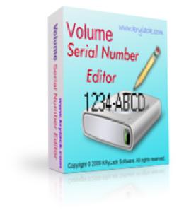 Volume Serial Number Editor UNLIMITED License