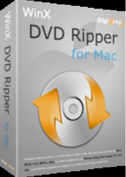 Promo Code for WinX DVD Ripper for Mac