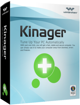 Wondershare 1-Click PC Care for Windows