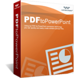 Promo Code for Wondershare PDF to PowerPoint Converter