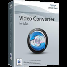 Wondershare Video Converter pour Mac