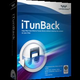 Wondershare iTunBack for Windows