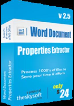 Word Document Properties Extractor