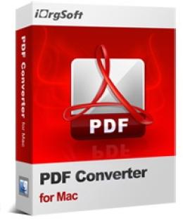 iOrgsoft PDF Converter for Mac