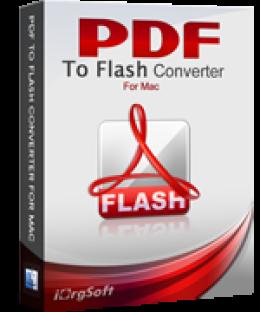 iOrgsoft PDF to Flash Converter for Mac