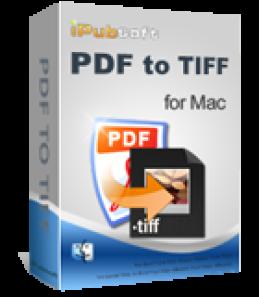iPubsoft PDF to TIFF Converter for Mac