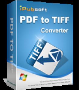 iPubsoft PDF to TIFF Converter