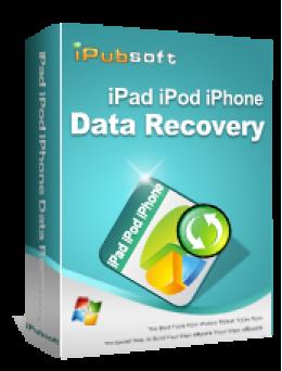 iPubsoft iPad/iPod/iPhone Data Recovery - 65% Coupon Code