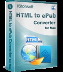 iStonsoft HTML to ePub Converter pour Mac