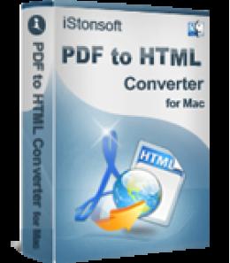 iStonsoft PDF to HTML Converter for Mac