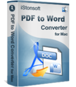 iStonsoft PDF to Word Converter for Mac