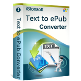 iStonsoft Text to ePub Converter