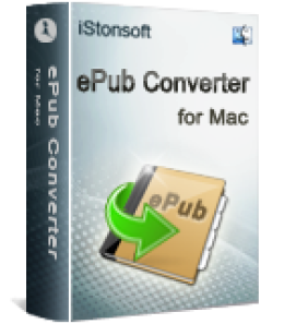 Free 60% iStonsoft ePub Converter for Mac Special Promotion Code Offer